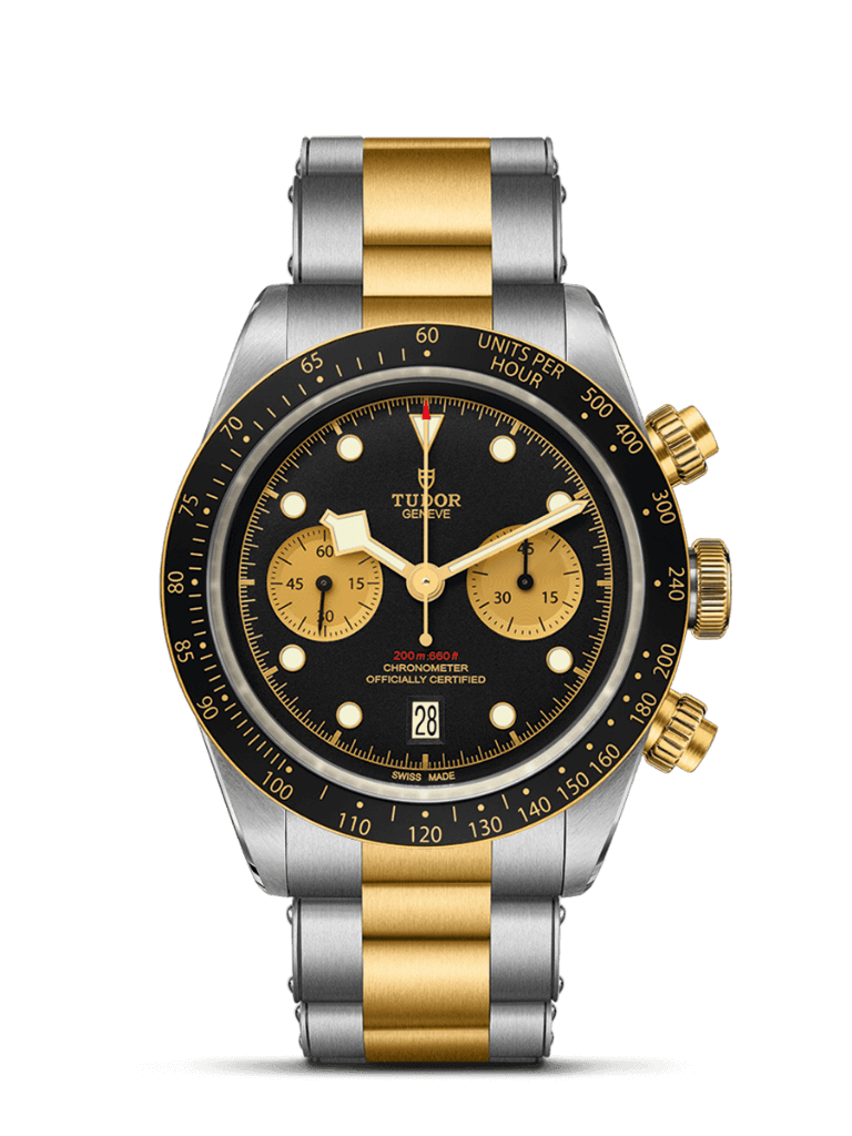 Black Bay Chrono Steel & Gold